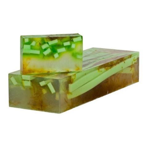 Freshly Cut Grass & Calendula Soap With Nourishing Oils min 100g